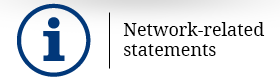 Network-related statements